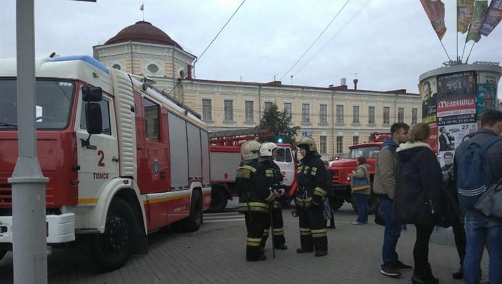Люди эвакуировались изкорпуса ТУСУРа из-за замыкания
