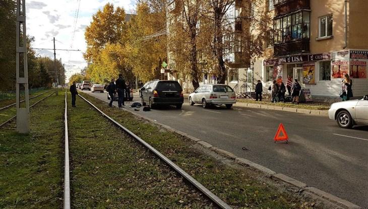 Вседорожный автомобиль столкнулся сПАЗом наКузовлевском тракте вТомске, есть жертвы