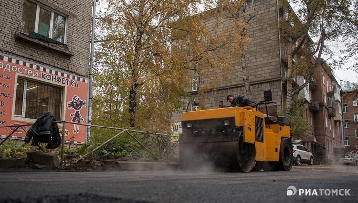 Ремонт подъездов к школам и детсадам продолжается в Томске