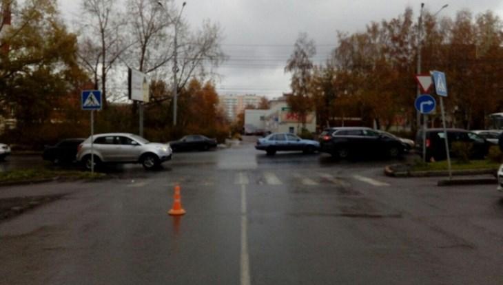 Хонда сбила девочку-пешехода на«зебре» вСоветском районе Томска