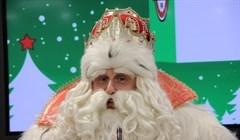 Дед Мороз из Устюга похвалил томскую ГИБДД за продвижение фликеров