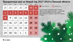 Как отдыхаем в Новый год – 2018?