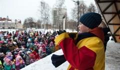 Как в Томске отметили день рождения Деда Мороза: фото