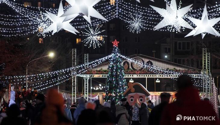 Настроение – праздник: новогодняя ночь в Томске в снимках Instagram