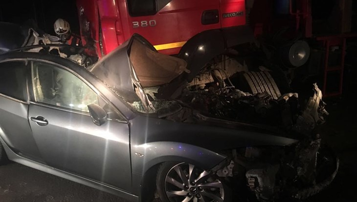 Два человека погибли вДТП с грузовым автомобилем под Томском