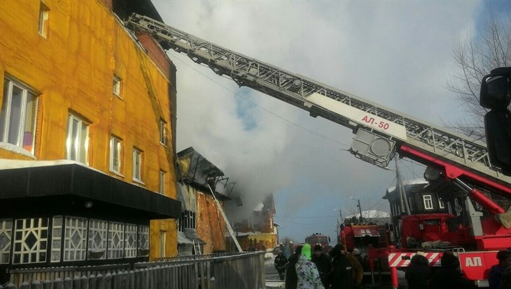 Ребенок умер  вовремя пожара вмикрорайоне Степановка вТомске