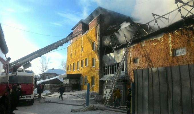 Кошмарный пожар вТомске забрал жизнь ребенка