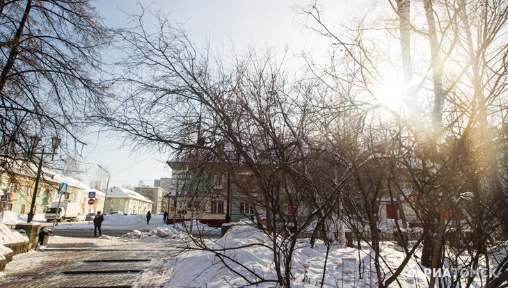 Синоптики обещают теплую но ветреную погоду в четверг днем в Томске