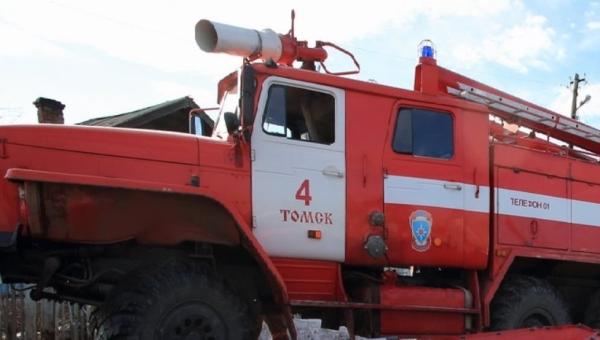 Мужчина погиб при пожаре на переулке Нечевский в Томске