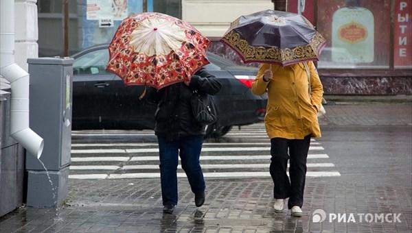 Понедельник в Томске будет теплым, но возможен ветер до 17 м/с