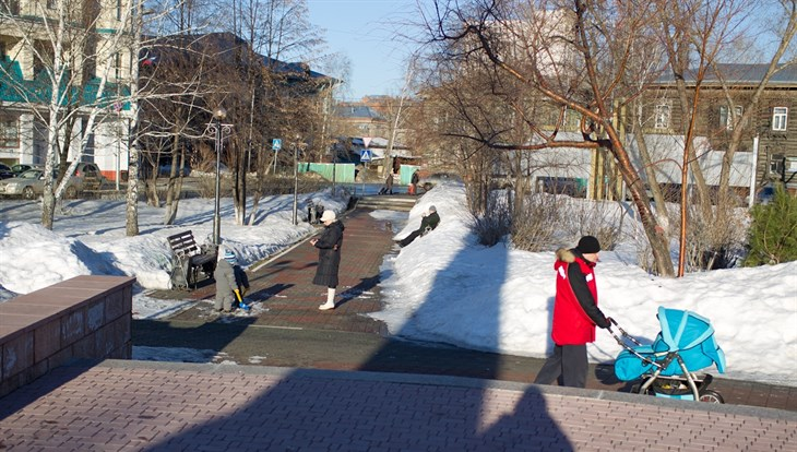 Теплая погода без осадков сохранится в четверг в Томске