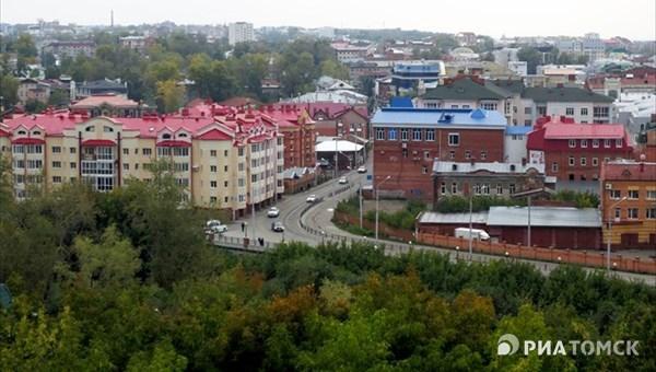 Небольшой дождь ожидается в Томске в четверг, возможна гроза