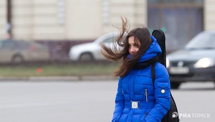 Понедельник в Томске ожидается прохладным и ветреным