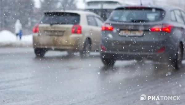 Сильный ветер принесет в понедельник в Томск дождь и мокрый снег