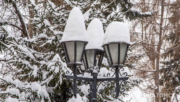 Холодная погода со снегом и порывистым ветром ждет томичей в четверг