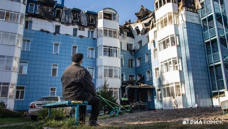 Восстановление дома на Вавилова,10 в Томске завершится к апрелю 2019г
