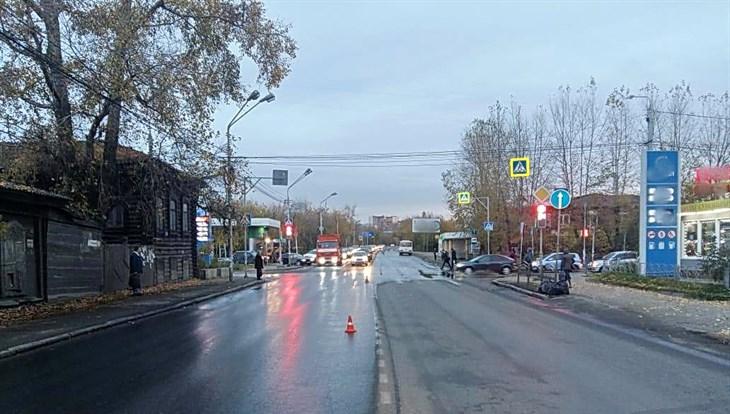 Томская полиция ищет очевидцев ДТП с погибшей школьницей