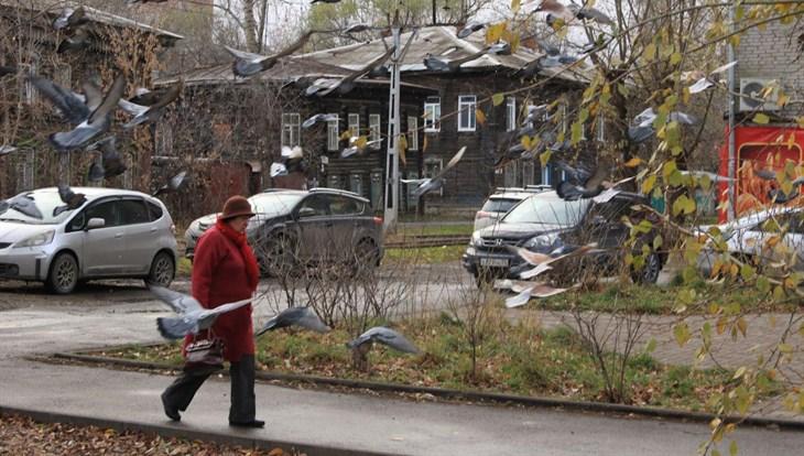 Синоптики обещают небольшой дождь и мокрый снег в Томске во вторник