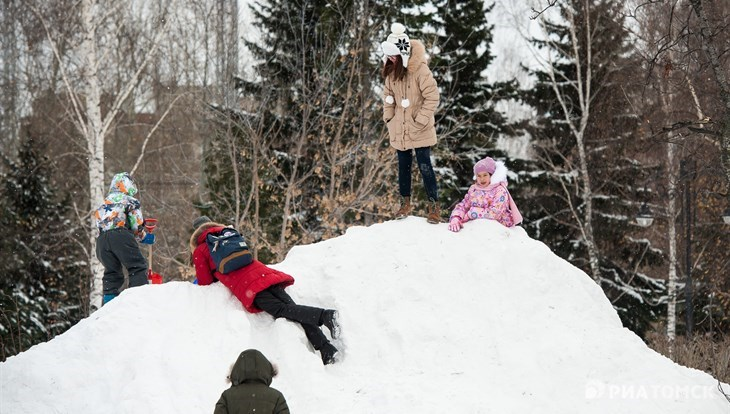 Синоптики прогнозируют переменную облачность и снег в четверг в Томске