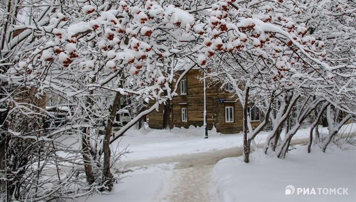 Небольшое потепление ожидается в Томске в понедельник