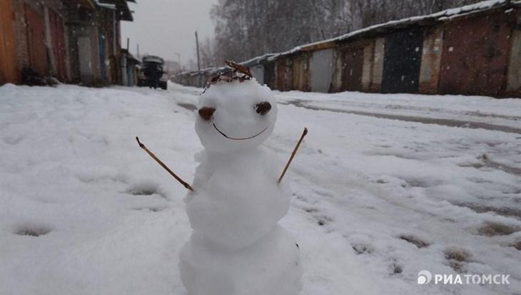 Морозная и ветреная погода сохранится в Томске во вторник