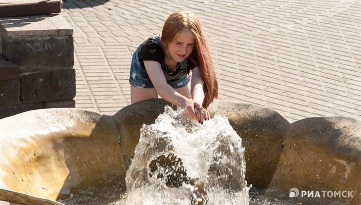 Около 30 градусов тепла ожидается в Томске в среду, возможен дождь