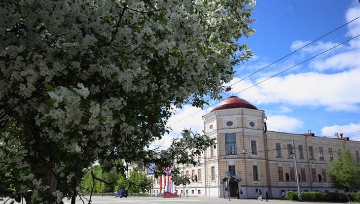 Пятница в Томске будет теплой, утром возможен дождь