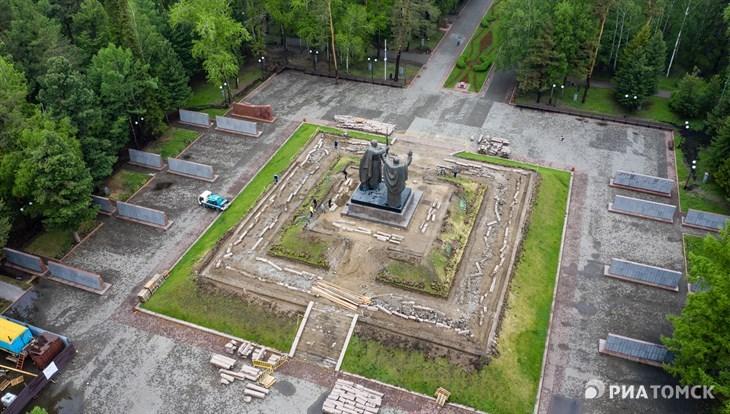 В Томске началось благоустройство четырех общественных пространств