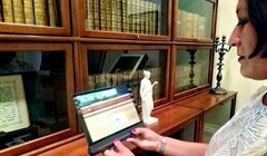 Rare thing: augmented reality opens the windows of the TSU library