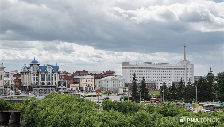 Небольшой дождь и порывистый ветер ожидаются в Томске во вторник