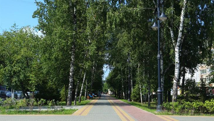 Жаркая погода без осадков сохранится в Томске в среду