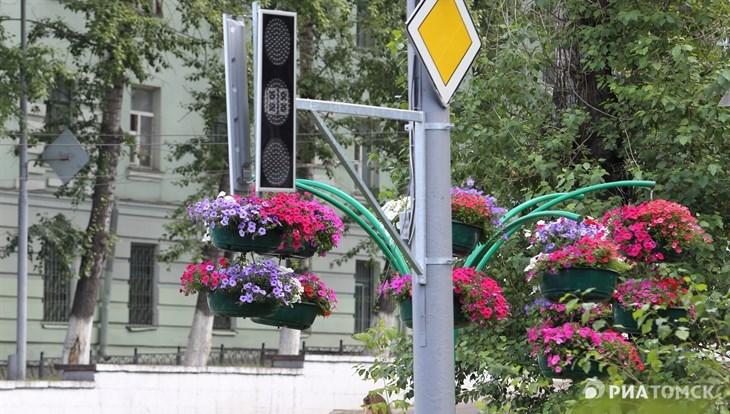 Светофоры перекрестке Ленина и Кирова в Томске заработают в сентябре