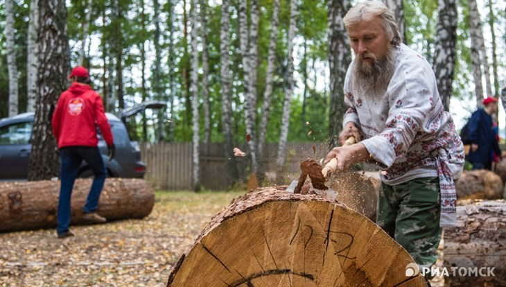 Five days for a masterpiece: Ax Day started near Tomsk on Tuesday