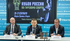More than 160 kettlebell lifters gather in Tomsk at the Cup of Russia