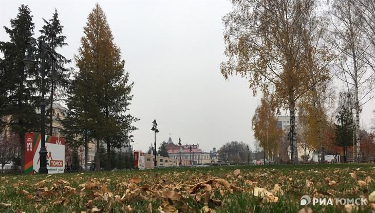 Прохладная и ветреная погода ожидается в Томске в четверг