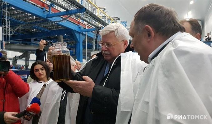 """Вторая очередь рапсового завода """"Сибирская олива"""" запущена под Томском"""
