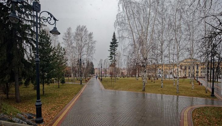 Мокрый снег, дождь и порывистый ветер ожидают томичей в пятницу