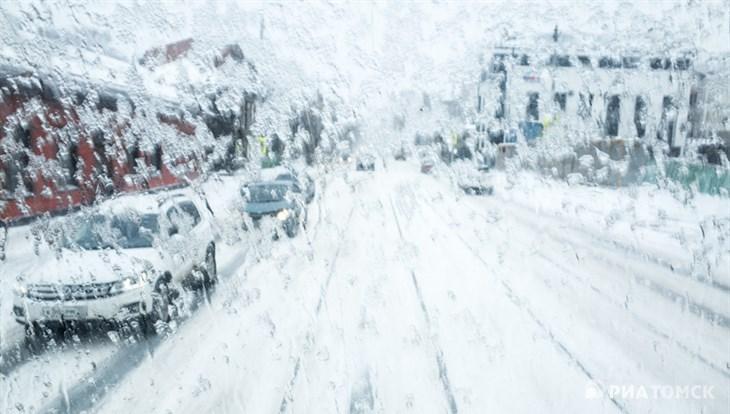 Синоптики прогнозируют дождь и мокрый снег в среду в Томске