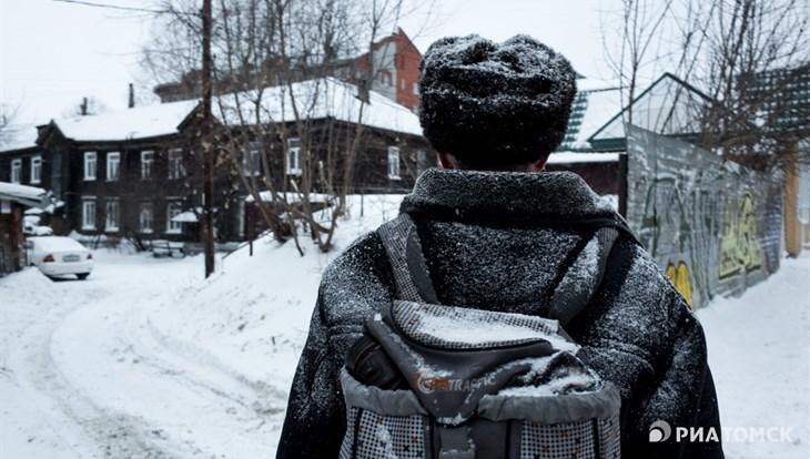 Около нуля градусов и небольшой снег ждут томичей во вторник