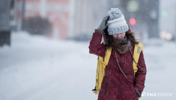 Порывистый ветер сохранится в Томске в понедельник, немного похолодает
