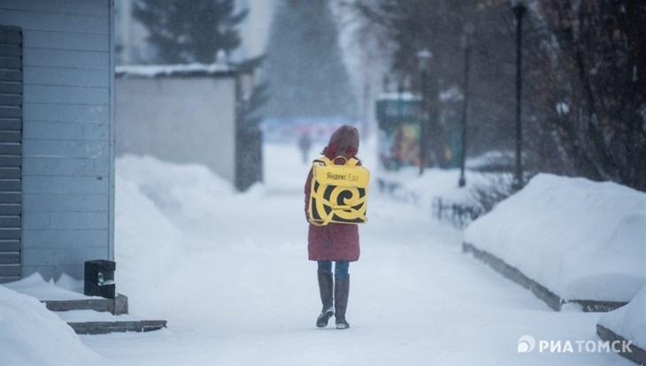 Небольшой минус и снег ожидаются в Томске в пятницу