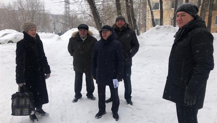 Заммэра: коммунальщики отработали 90% жалоб томичей на уборку снега