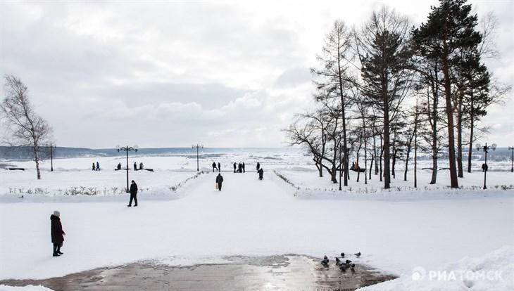 Синоптики ожидают около нуля и ветер до 12 м/с в среду в Томске