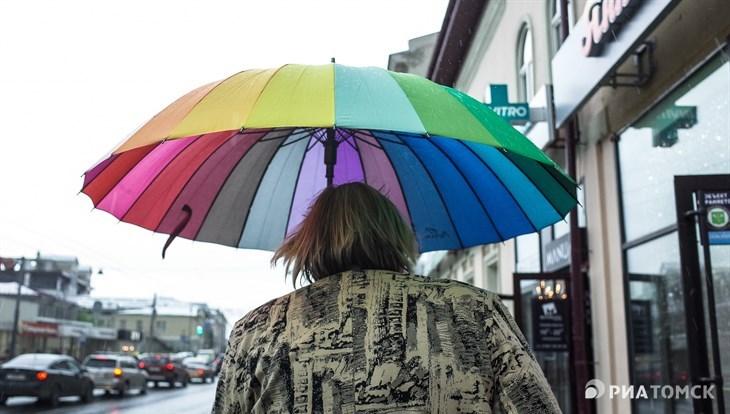 Прохлада и небольшой дождь ожидают томичей в понедельник