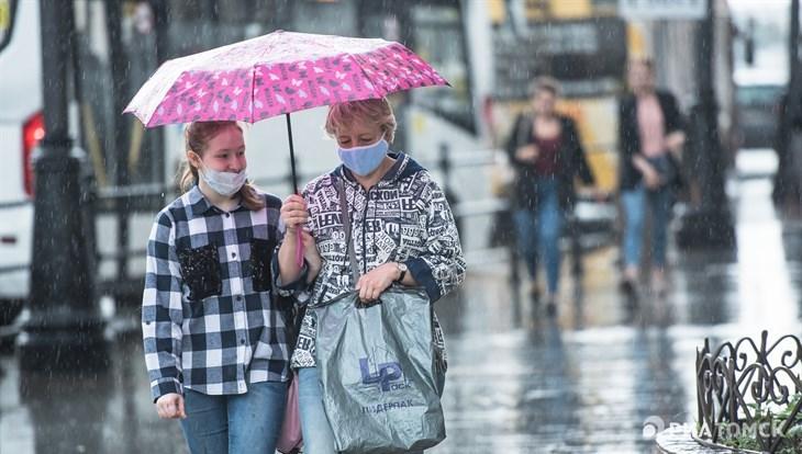 Небольшое похолодание ожидает томичей в среду, возможен дождь