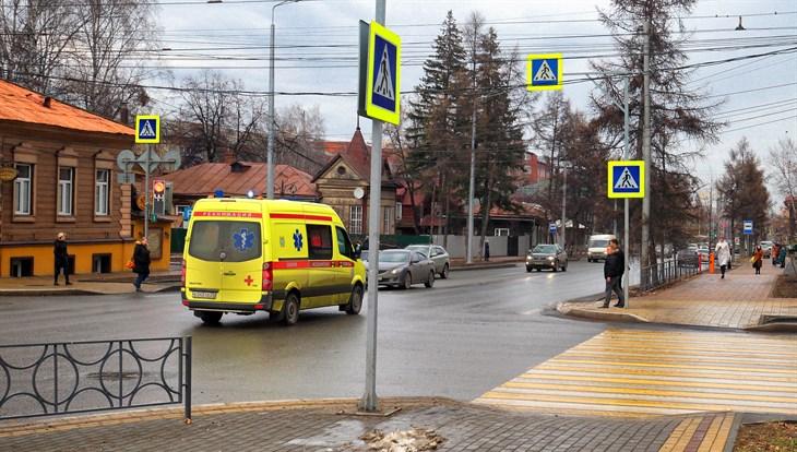 Небольшой минус возможен в Томске во вторник