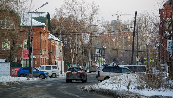 Среда в Томске будет теплой, но ожидаются снег и ветер до 14 м/с