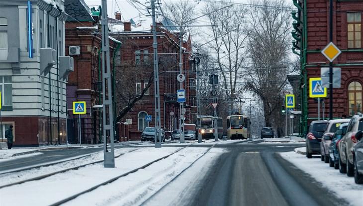 Температура воздуха до минус 12 сохранится в Томске в понедельник