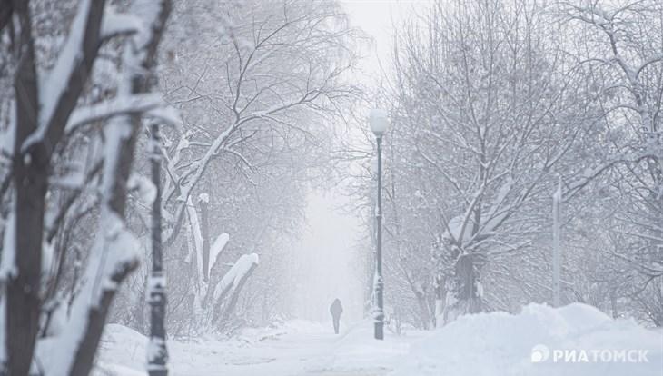 Небольшое похолодание и снег ожидаются в Томске во вторник