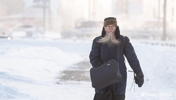 Тридцатиградусные морозы сохранятся в Томске во вторник